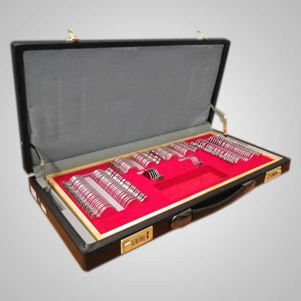Caja de prueba 158 aro metálico