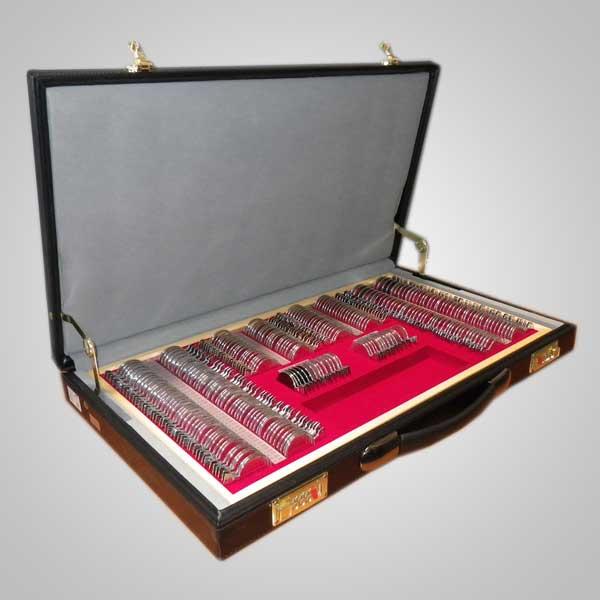 Caja de prueba 266 aro metálico