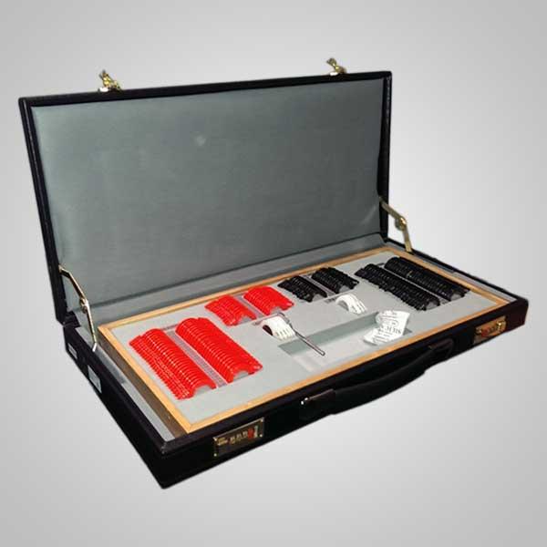 Caja de prueba 158 aro plástico