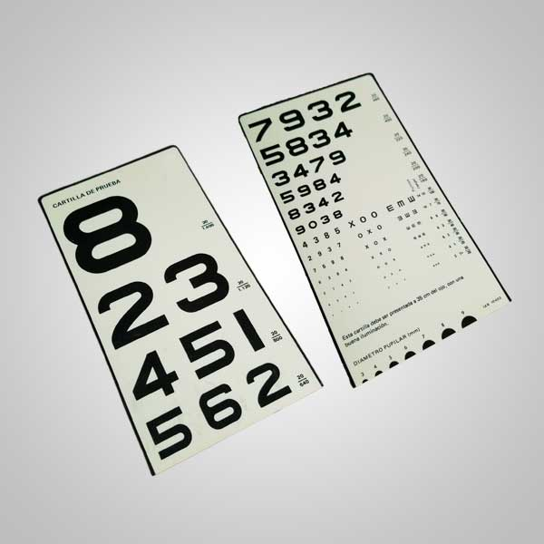 Cartilla de Números